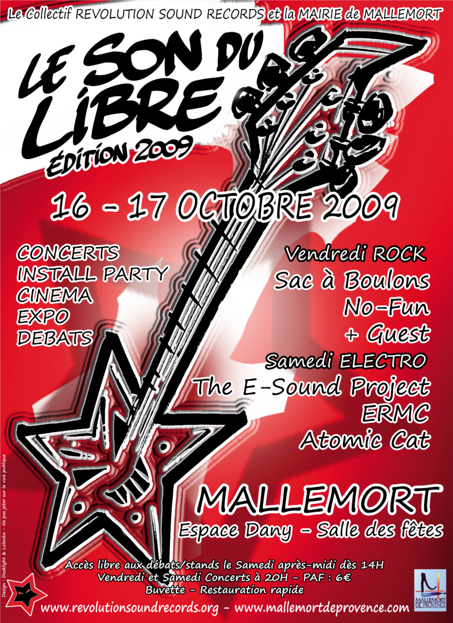 flyer le son du libre 2009